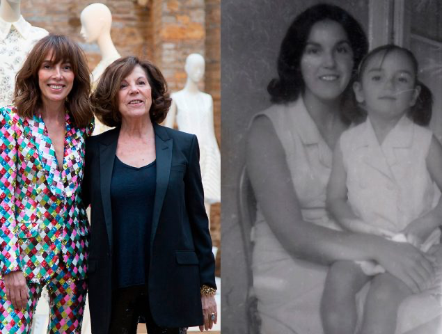 Teres Helbig and her mother Teresa Bisaco