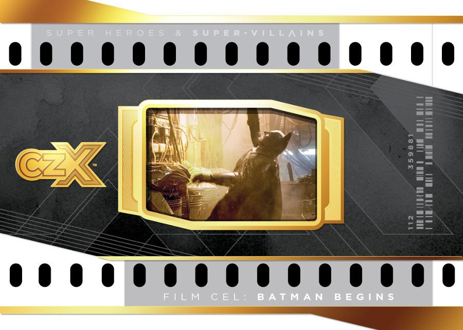 CZX Super Heroes & Super-Villains - Binder Film Cel Card
