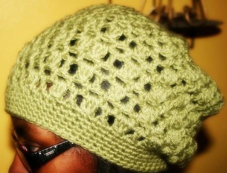 Free crochet pattern - Kiwi slouch hat