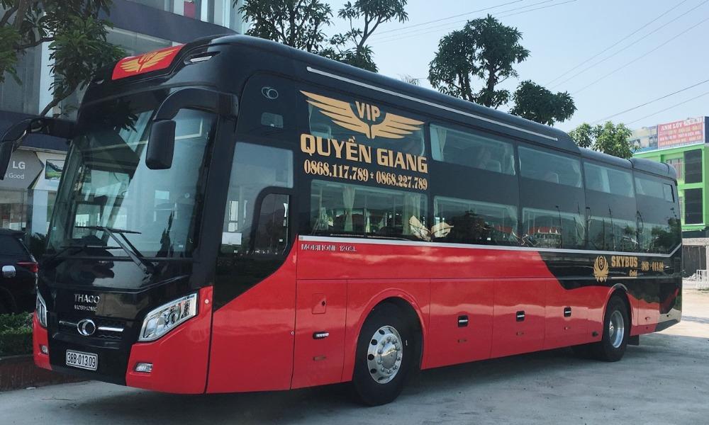 Xe Quyền Giang từ Hà Nội đi Quảng Bình