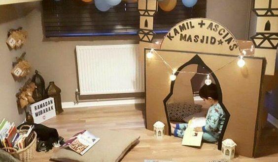 رمضان, أنشطة منزلية, أطفال, شهر رمضان, تربية, دين, مسجد