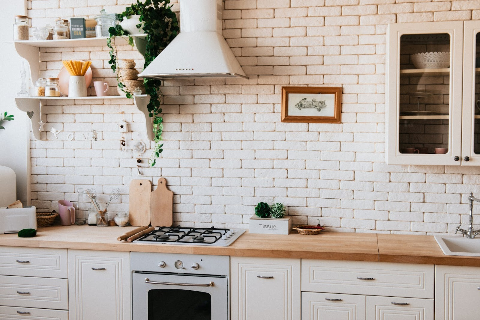 child-proofing your home  - kitchen