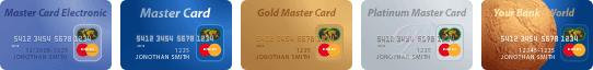 Оплата покредитным картам MasterCard