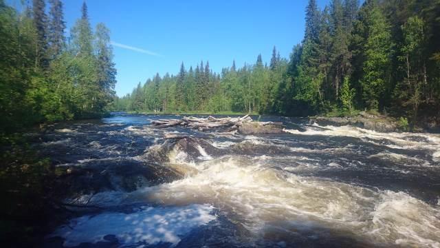 Отчёт о водном походе 3 категории сложности по реке Умба