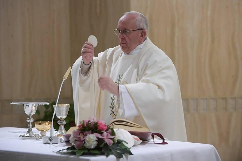 Đức Thánh Cha Phanxico: Thiên Chúa muốn chúng ta chân thành với Người