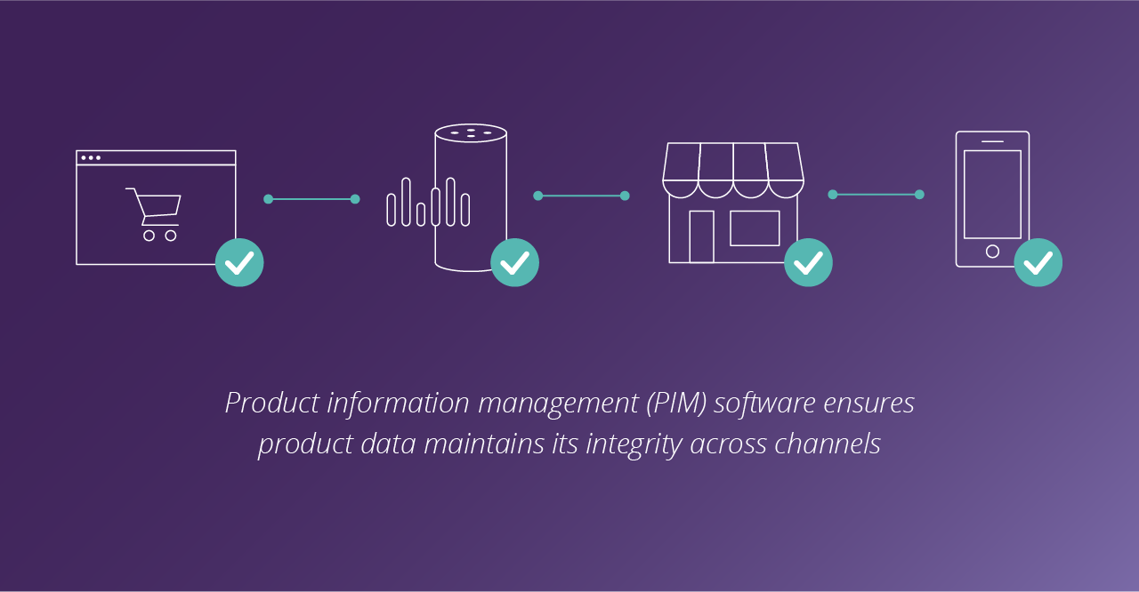 A product information management platform enables retailers to automate the process of listing products and optimizing product data to eliminate opportunities for human error.