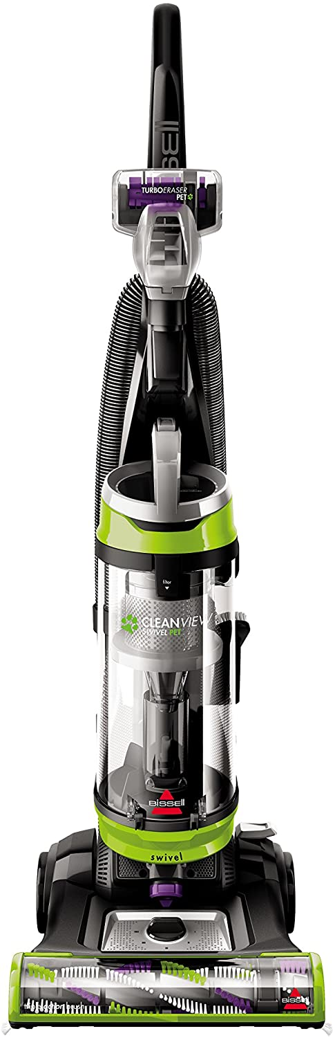 Bissell Cleanview Swivel Pet Upright Bagless Vacuum Cleaner, Green, 2252?