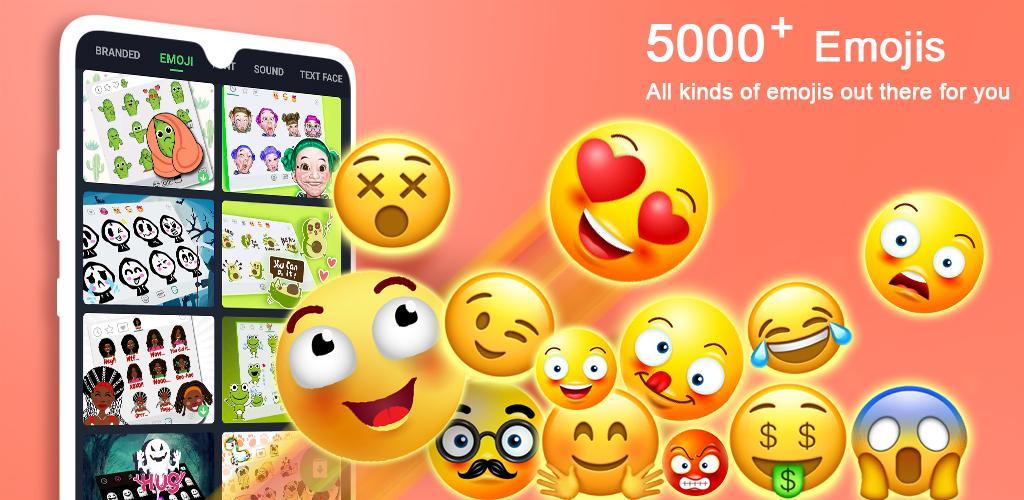 Emoji Keyboard – Cute Emoticons, GIF, Stickers