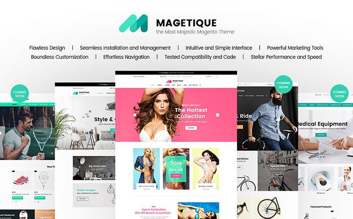 Magento 2.0 themes Magetique