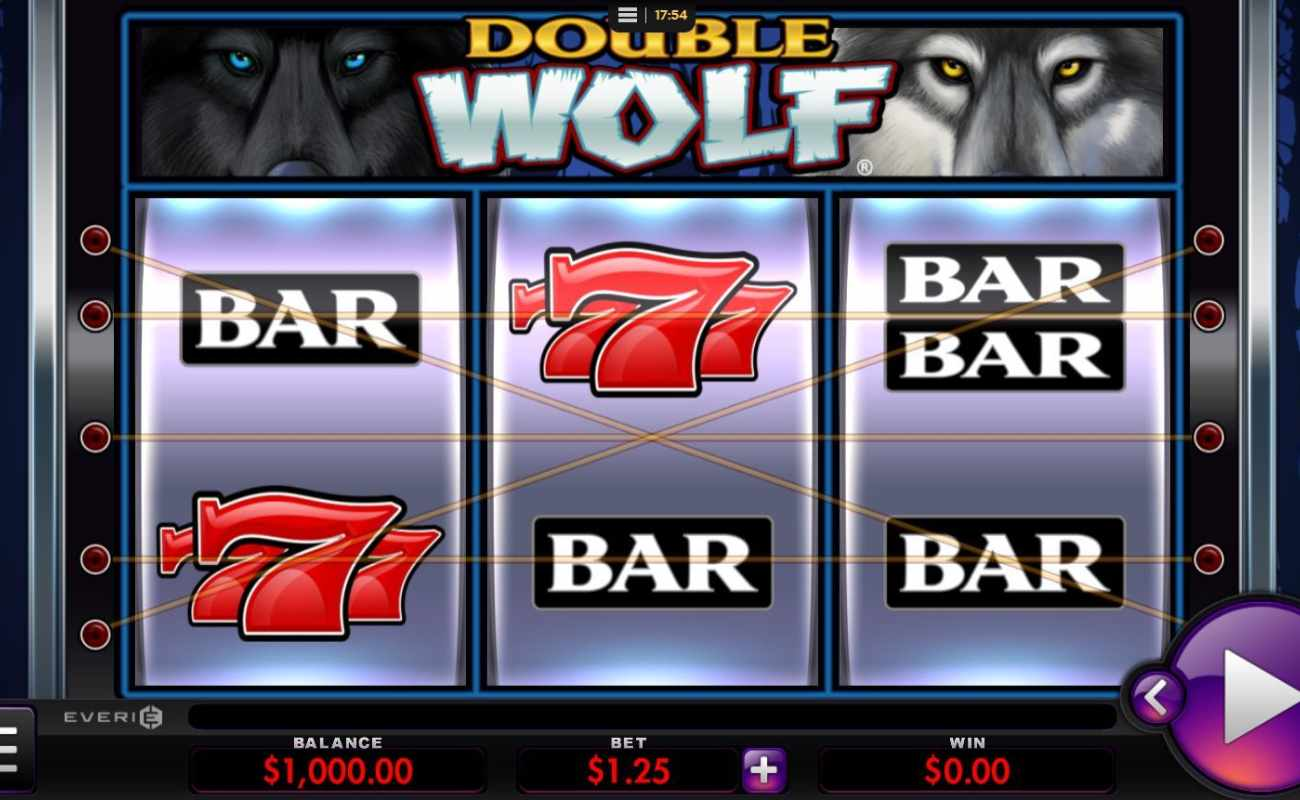 Double Wolf by Everi online slot casino game