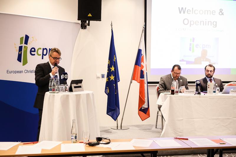 Konferencia Politika ako poslanie, voľby podpredsedu ECPM