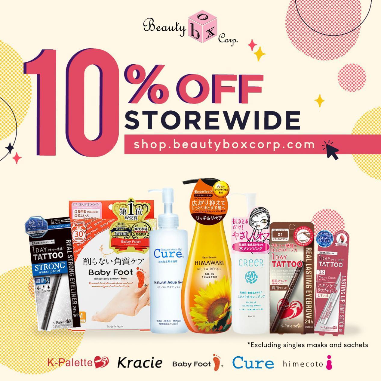 10% storewide - Angelica Tuazon