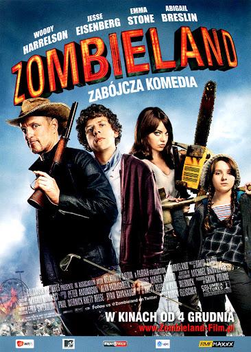 Przód ulotki filmu 'Zombieland'