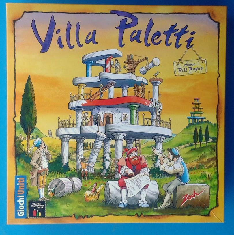 La scatola di Villa Paletti