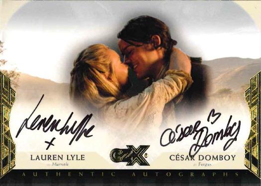 CZX Outlander: Dual Autograph Card