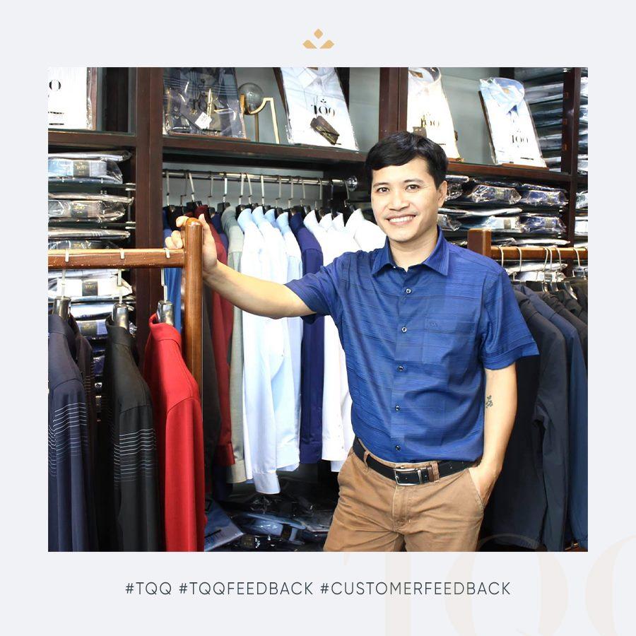 TQQ là địa chỉ cung cấp áo sơ mi nam chuẩn size hàng đầu của phái mạnh
