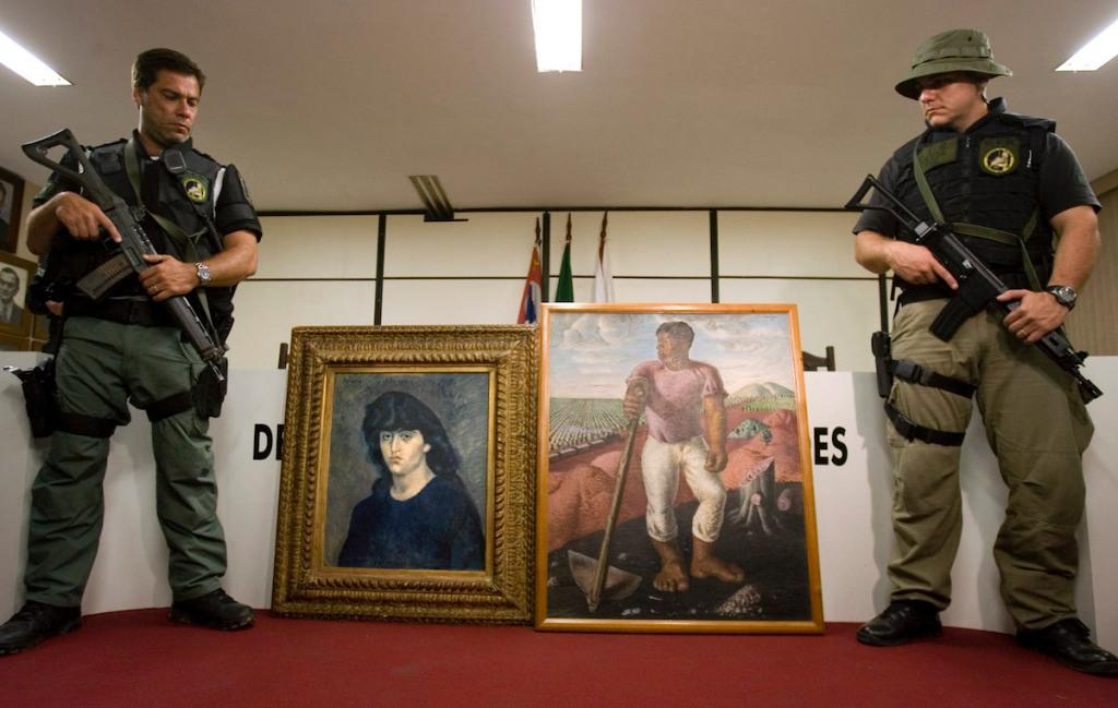 25 величайших похищений произведений искусства всех времен (часть I).