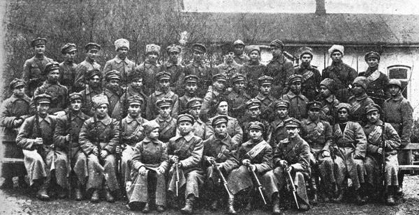 Один з підрозділів січових стрільців. Проскурів, березень 1919-го