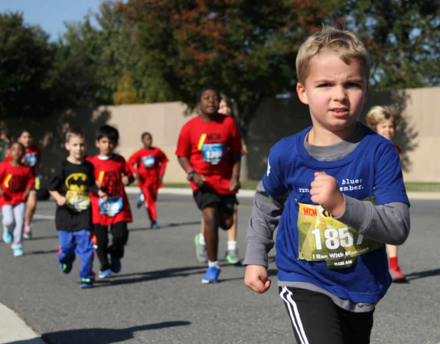 Marine Corps Marathon Kids Run