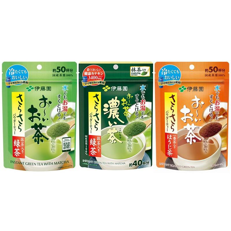 7. ชา ITOEN Instant Green Tea with Matcha