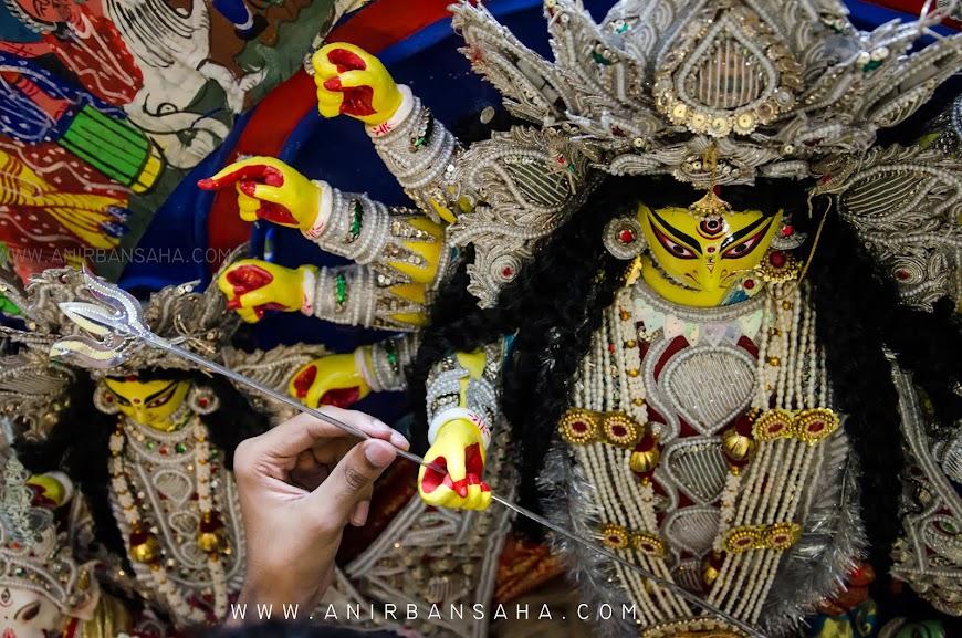 Durga Puja, Kolkata, Samya Karpha