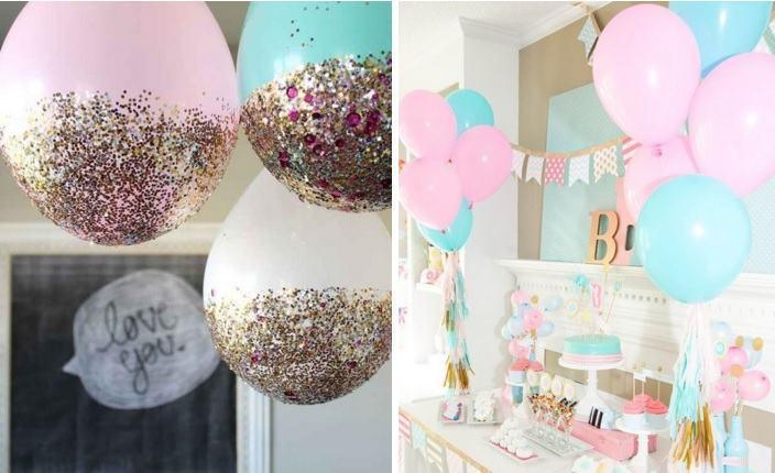 Balões não podem faltar. (Foto: Divulgação)