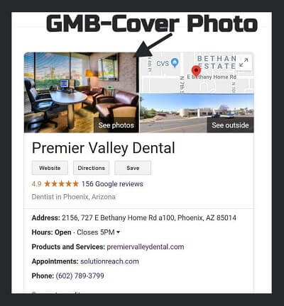 Google My Business-Dentist Cover Photo