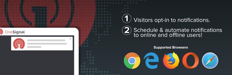 Plugin thông báo đẩy web miễn phí OneSignal