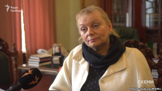 Член головної ради Українського товариства охорони пам'яток історії та культури Неля Куковальська