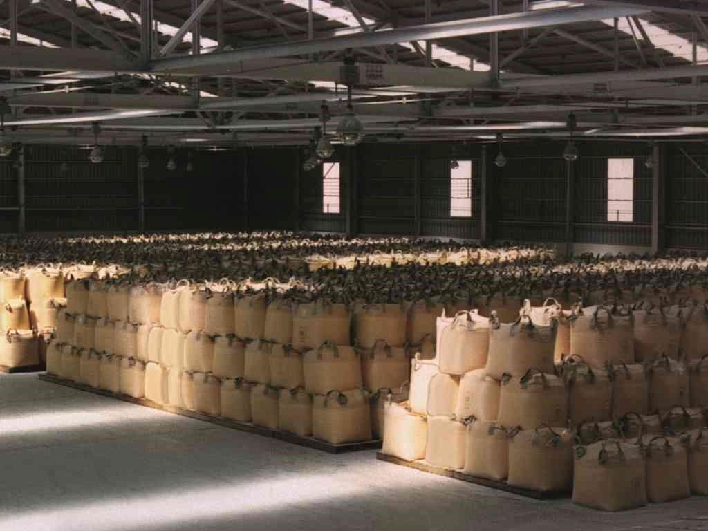 stacked super sacks