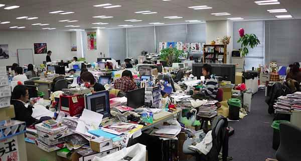 không gian thiết kế nội thất văn phòng cho doanh nghiệp
