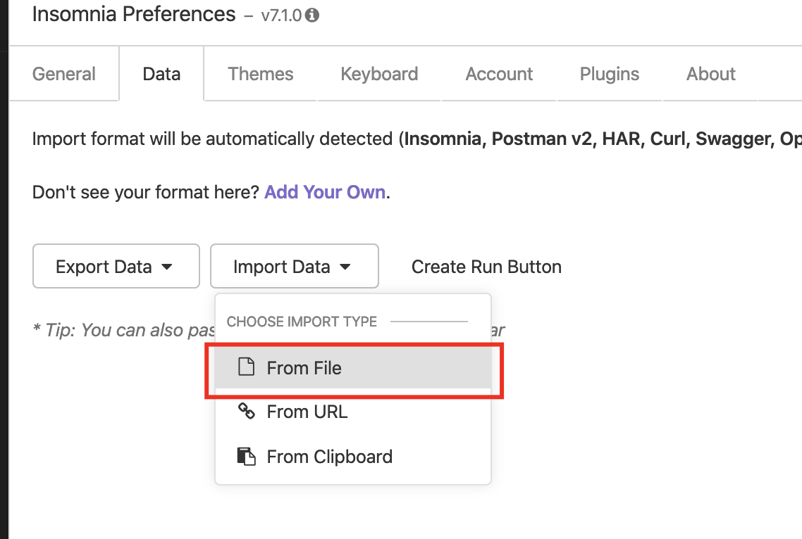 How to import requests from a file