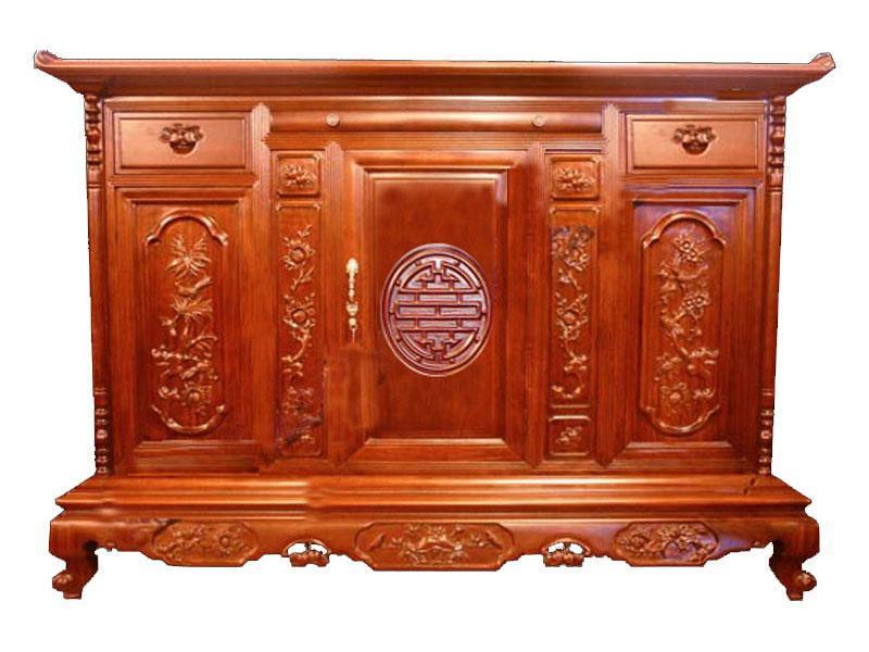 mua tủ thờ làm từ gỗ Hương