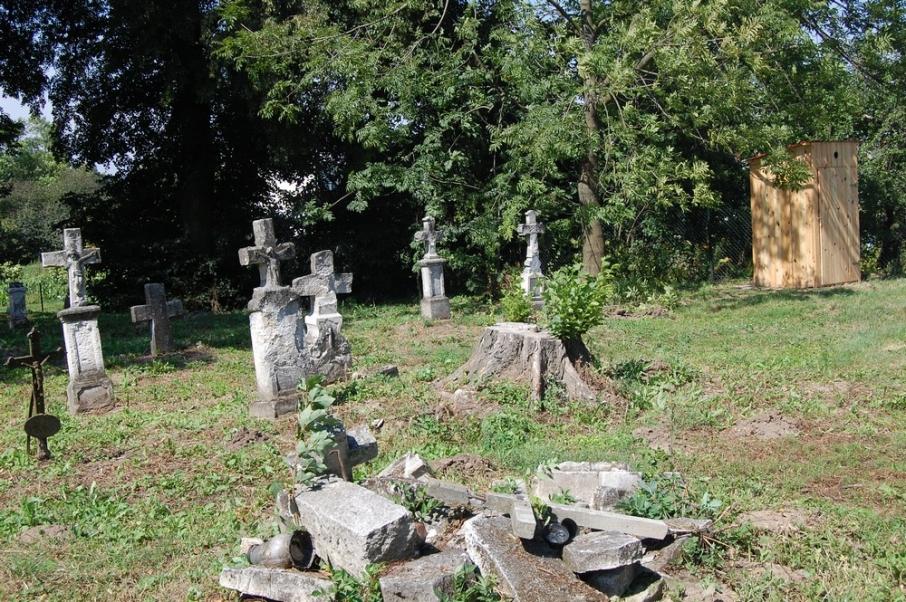 Кладовище в с. Ульгівок у Польщі біля українського кордону. Фото: wm.pl