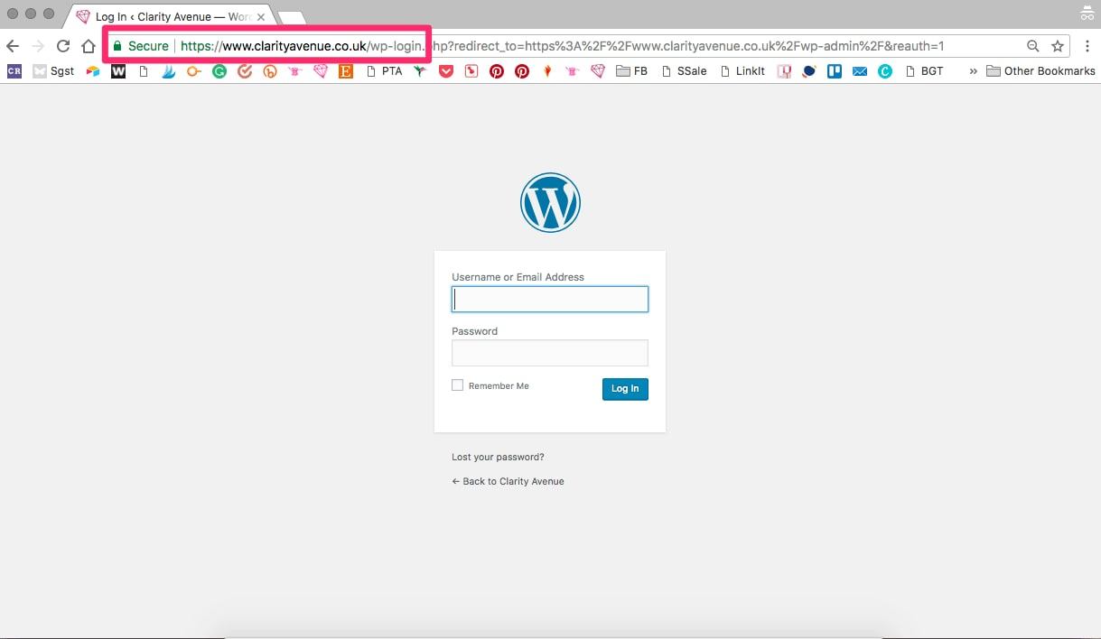 How To Start A Craft Blog - the login page for your new blog can be found by adding /wp-admin to the end of your url