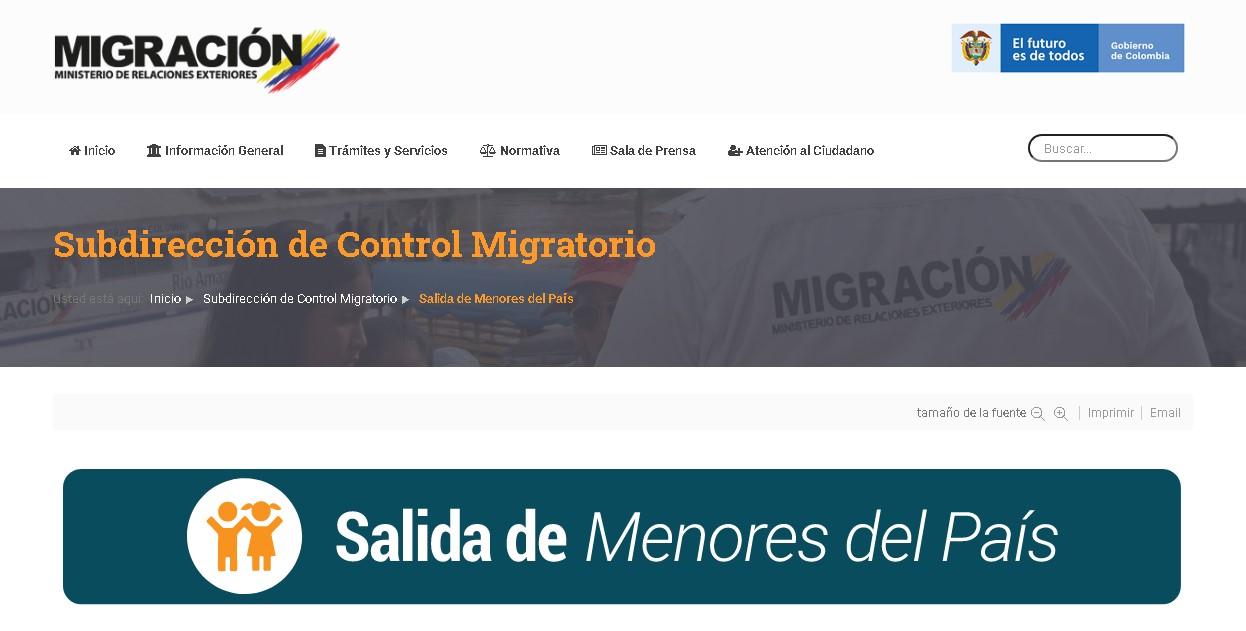 Donde sacar Permiso de salida del país para niños, niñas y adolescentes en Colombia