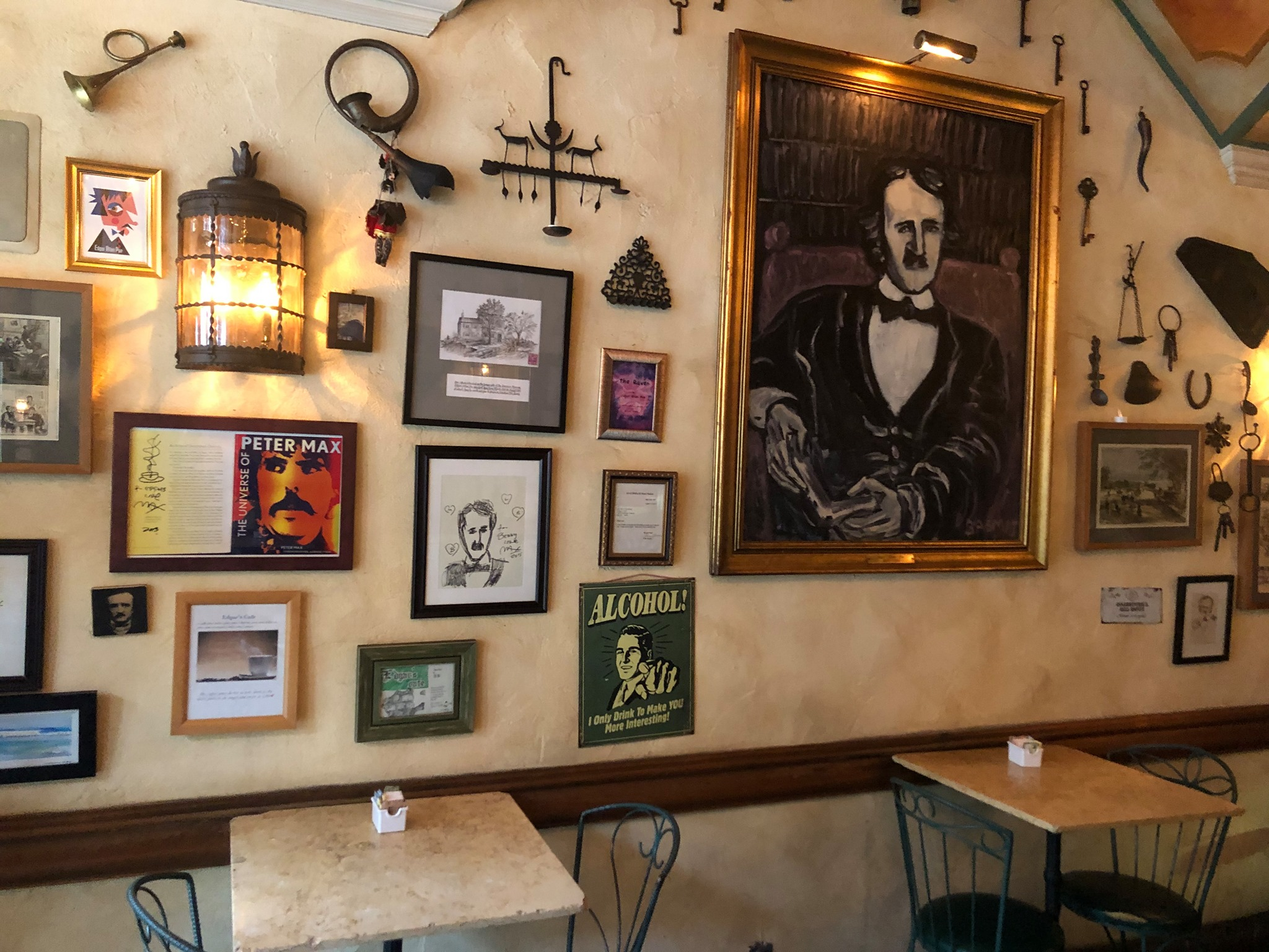 date ideas in NYC – Edgar's cafe