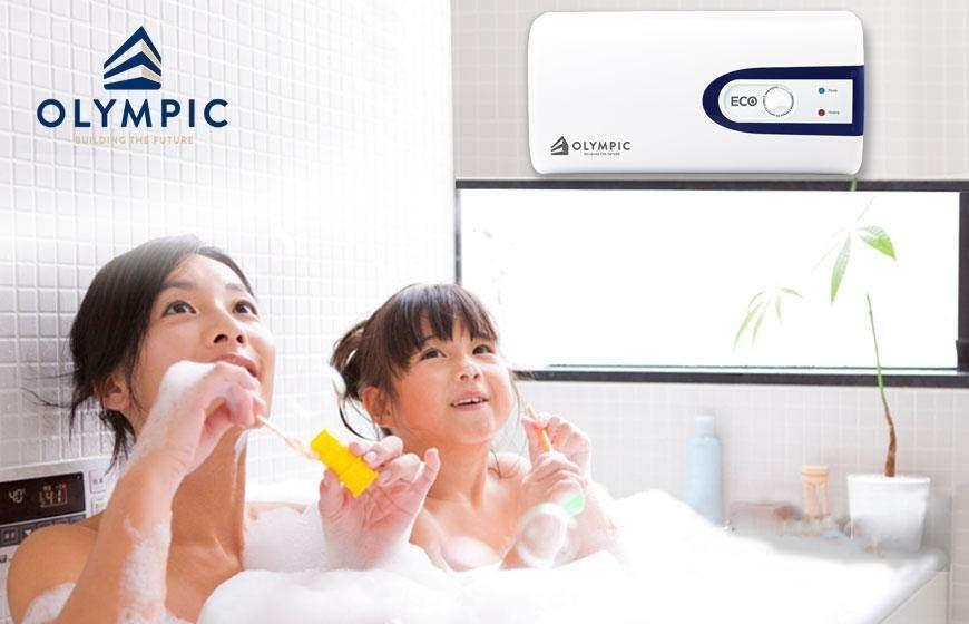 Tắm nước nóng giúp đảm bảo sức khỏe tốt nhất cho gia đình bạn