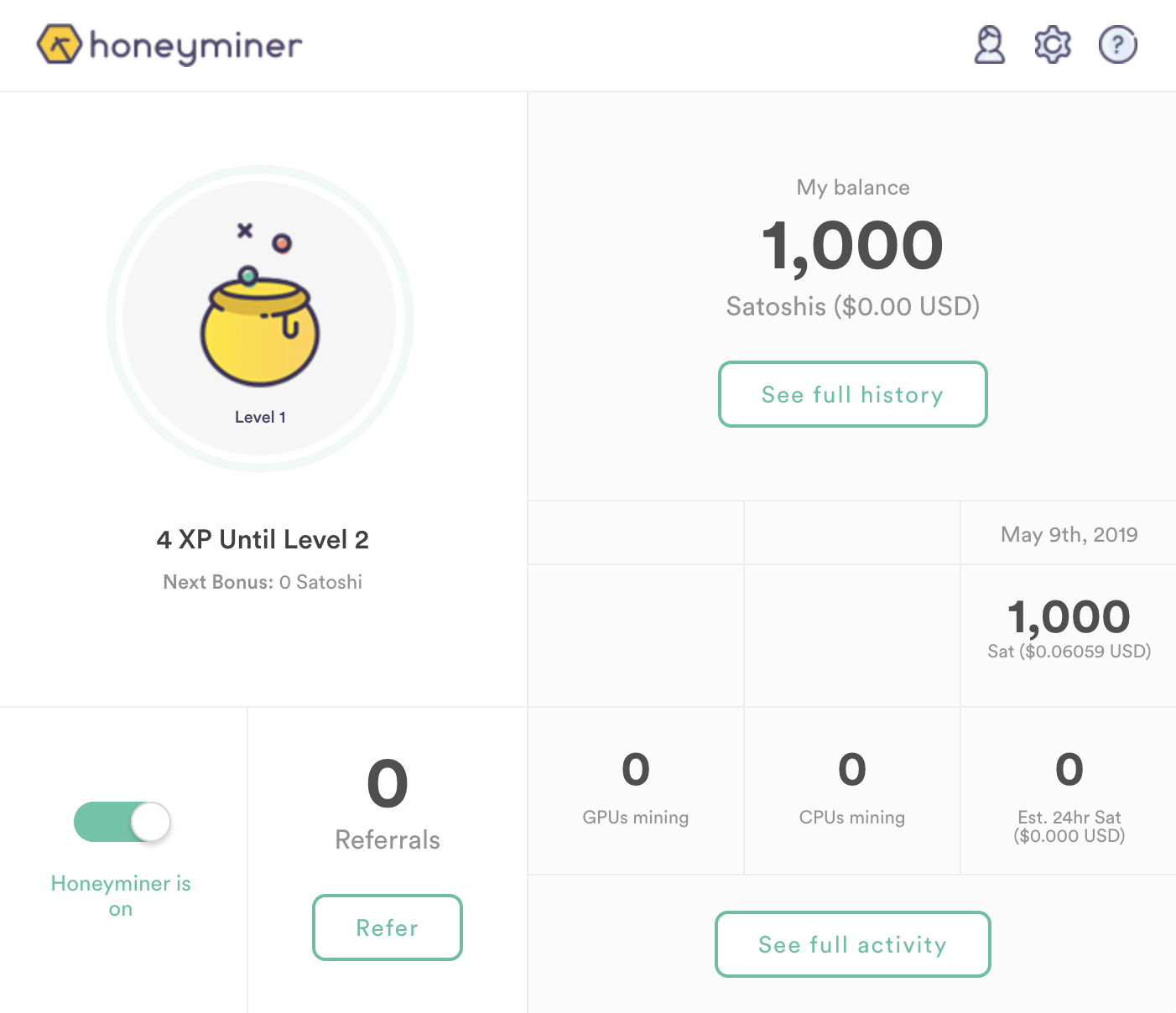 honeyminer review