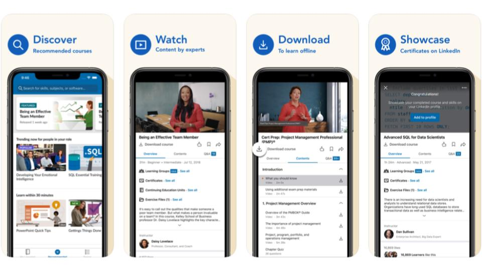 Benefit-App LinkedIn Learning