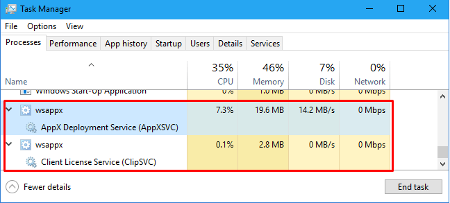 WSAPPX high disk usage -image 15