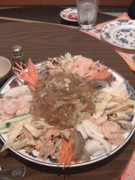 Photo of China Gourmet - Martinez, CA, United States. Yang jang pi...special cold jelly fish dish in hot mustard sauce! Yum!!!