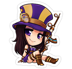 adc tier list league of legends - caitlyn