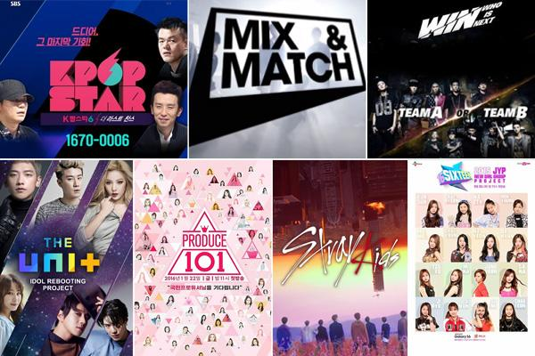 Image result for kpop survival shows performance