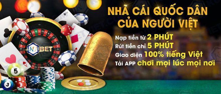 Tham gia cá cược tại casino KUBET