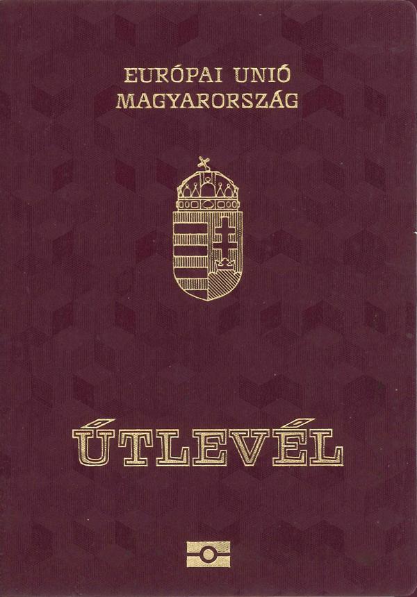 Hungarian passport cover