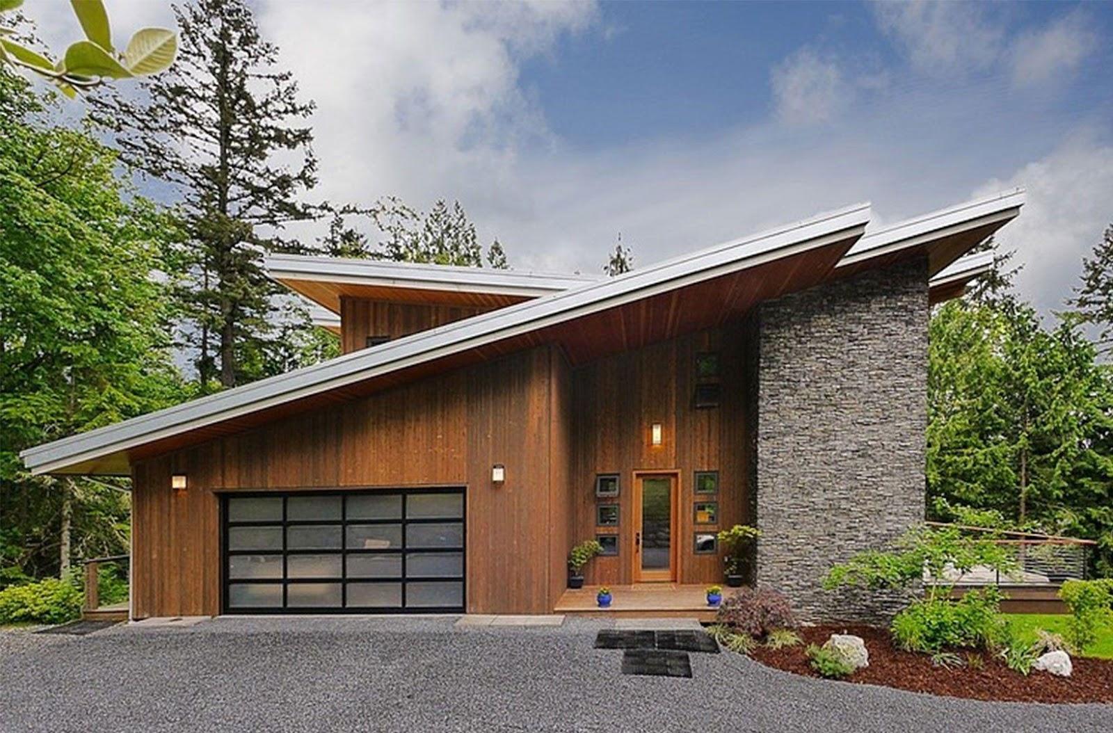 7 Macam Bentuk Atap Rumah Populer Dan Fungsi Desainnya