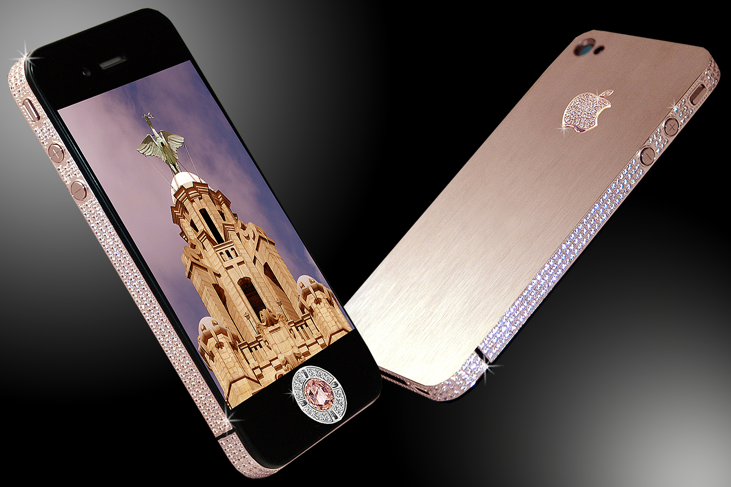 Le The Diamond Rose iPhone 32 GB