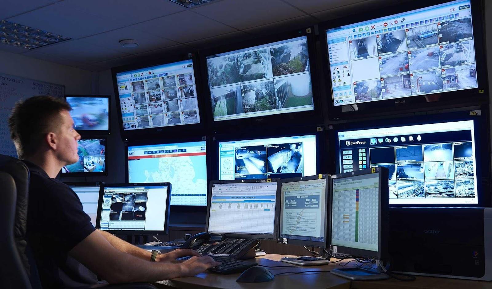Hoạt động các khu vực được giám sát bởi camera