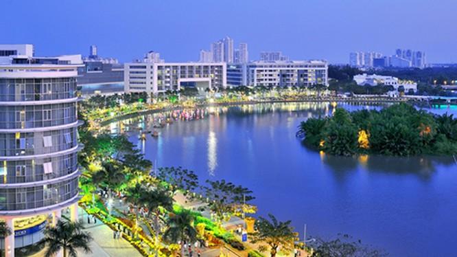 Dự án Phú Mỹ Hưng nhận được sự quan tâm của khách hàng trong và ngoài nước.